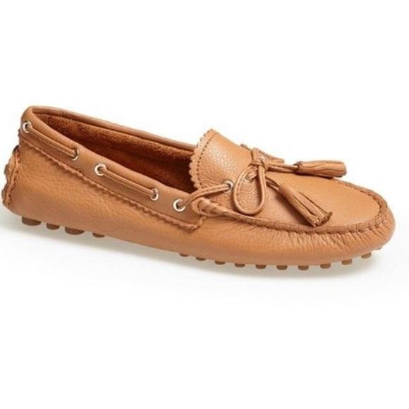 644545ac6edb4 Coach Shoes   Nadia Leather Driving Moccasins   Poshmark
